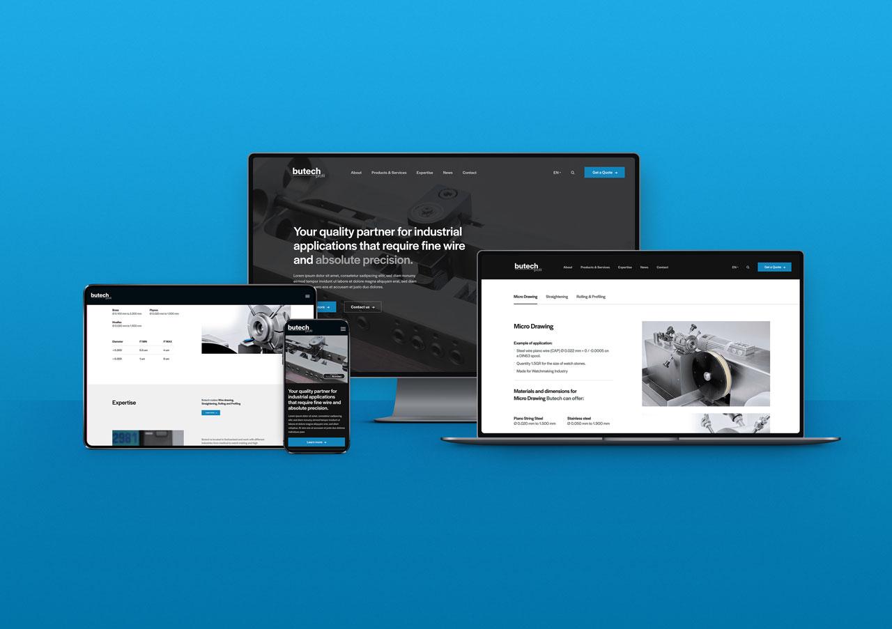 Butech Presents Its New Website